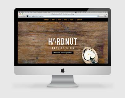 Hardnut Advertising Website Design