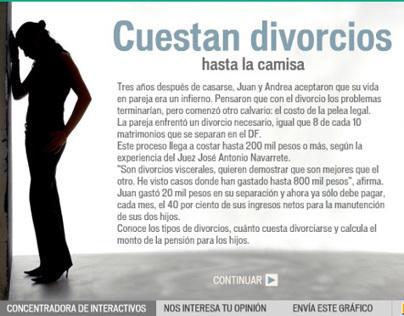 Graficos animados para Justicia en Reforma.com