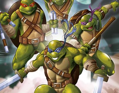 Turtle Teenage Mutant Ninja - FAN ART