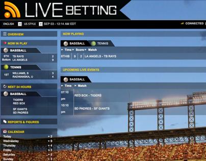 Live Betting Website
