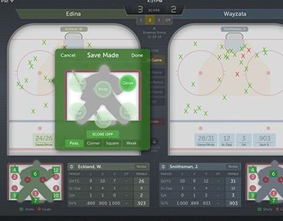 Goalie Stats app (iOS)