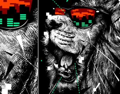 Shirt Design: Wild Invasion