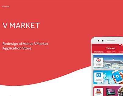 Vestel Venüs VMarket | App Redesign