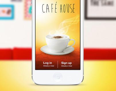 CAFE HOUSE - iOS 7 app