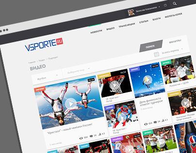 VSPORTE - news, videos and broadcasts