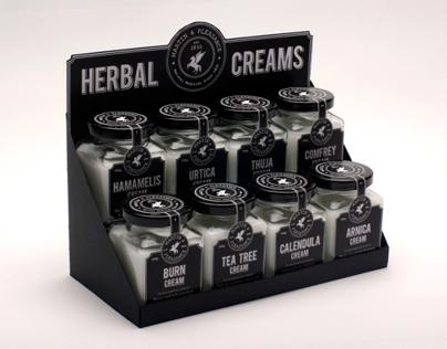 Herbal Creams Packaging