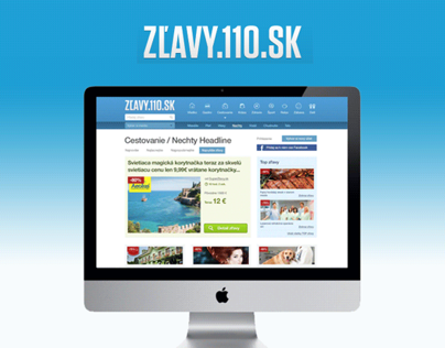 Zlavy.110.sk - More than 2000 discounts on one page