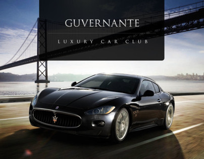 Guvernante.com - Extraordinary car club