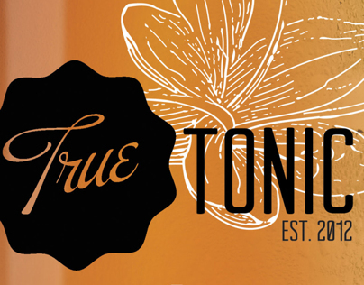 True Tonic Packaging and Ad