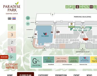 Paradise Park Touchscreen Directory