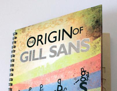 GILL SANS Typobook