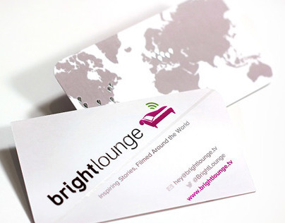 Brightlounge Silk Business Cards