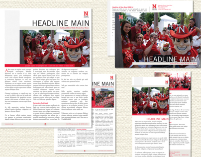 Nebraska Alumni Association Templates