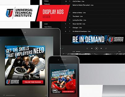 Universal Technical Institute - Digital Ads