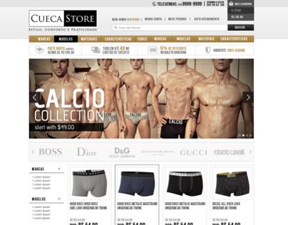 Ecommerce Prestashop - Cueca store