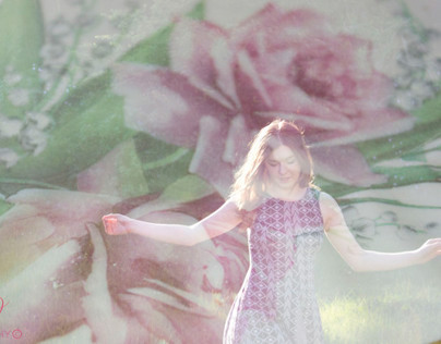 PHOTOGRAPHY // Floral Double Exposures