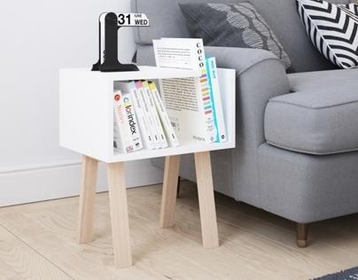 UNO bedside table by FIELD & RAGE
