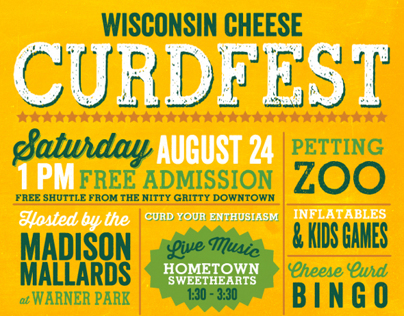 Curdfest Poster