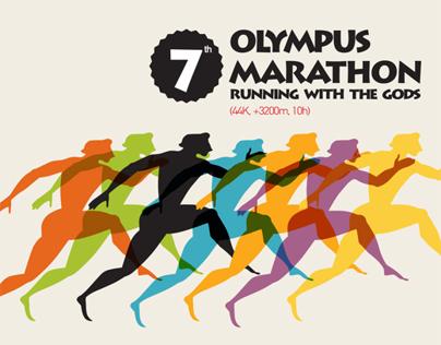 Olympus Marathon Posters 2009-2013