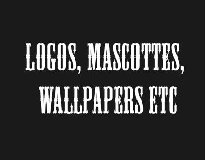 Mascottes, Logos etc