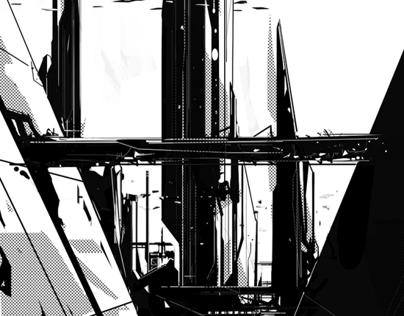 BLACK - A Sci-fi experiment