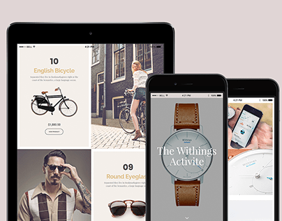 Rare WordPress Theme - iPad Responsive View