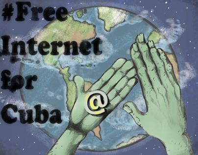 Petición libre acceso a internet para todos los cubanos