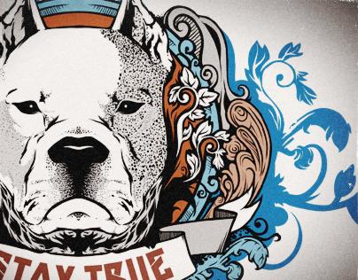 STAY TRUE (T-Shirt Design)