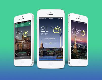 Weather App - iOS 7 app