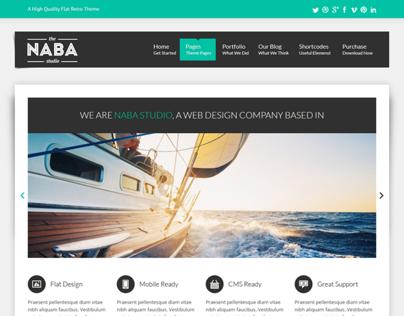 Naba:Multipurpose PSD Business Theme