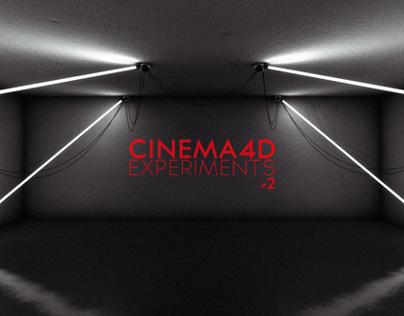 Cinema4D Experiments v2 Black Edition