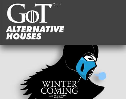 Game Of Thrones  - Alternative Houses