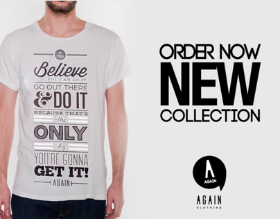 Again Clothing Is The New Black