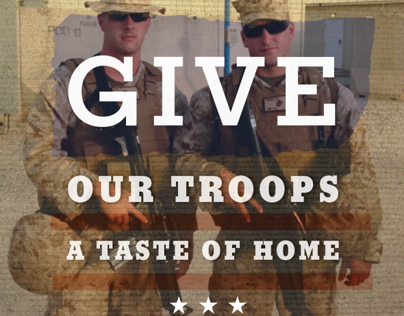 Flyer Design  |  Support our Troops