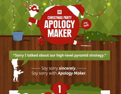 DT Christmas Party Apology Maker