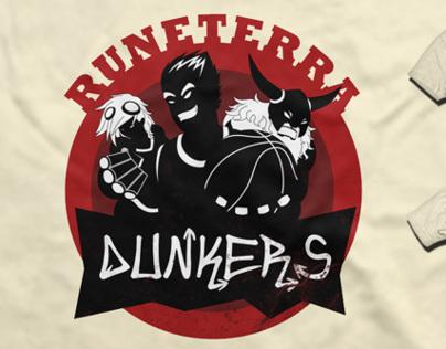 "Logo: ""Runeterra Dunkers"""