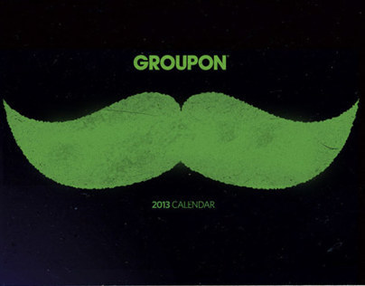 Groupon Movember Calendar