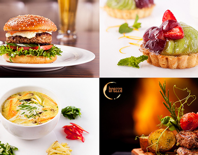 Brezza menu | photos & layout