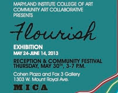 MICA Community Art Collaborative Exhibit