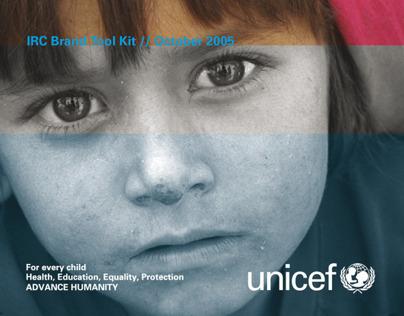 UNICEF IRC / Sub-brand design