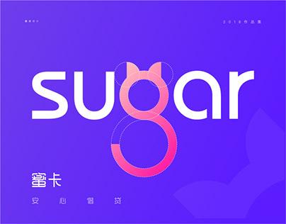 sugar card app视觉设计