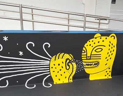 Mural Itau Cultural