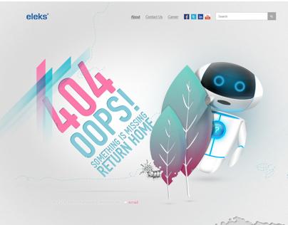 404 Not Found Error web page