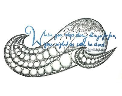 Zen Doodle I