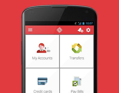 Qatar International Islamic Bank Android Application