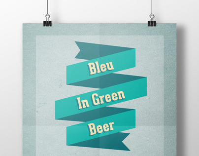 Bleu in Green Beer