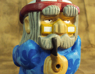 Whittled Wizard