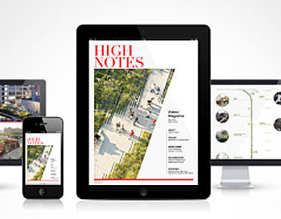 HIGH NOTES : interactive publishing about NY Highline