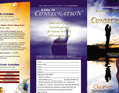 2008 KingdomFest Brochure