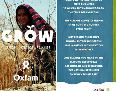 Grow Campaign - Oxfam India